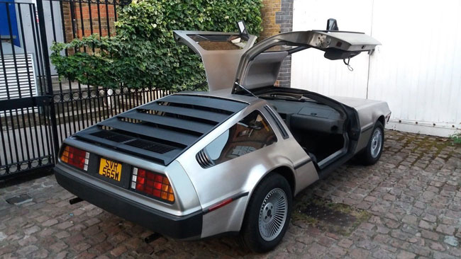Low mileage 1981 DeLorean DMC-12