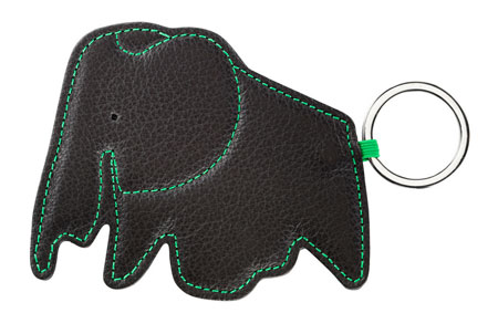 Eames Elephant key rings by Vitra