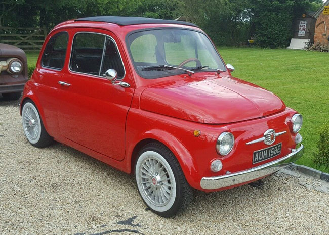 1967 Fiat 500 with upgraded engine
