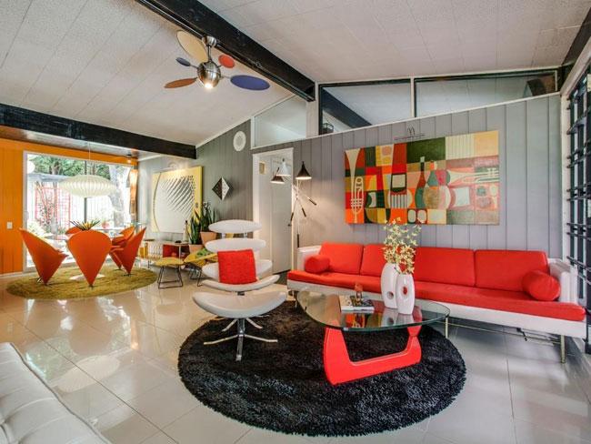 1950s Gordon Nichols-designed midcentury modern property in Dallas, Texas, USA