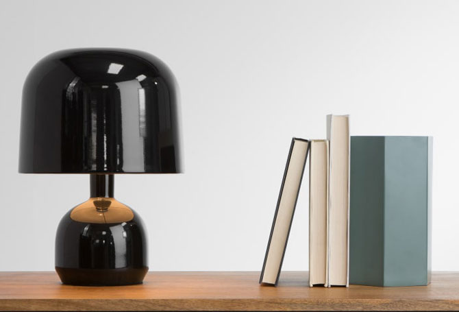 1970s-style Hank table lamp at Made