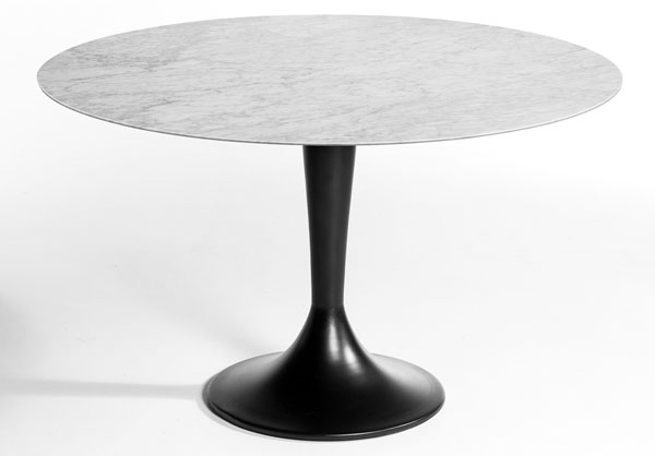 Hisia and Aradan tulip-style retro table range at La Redoute