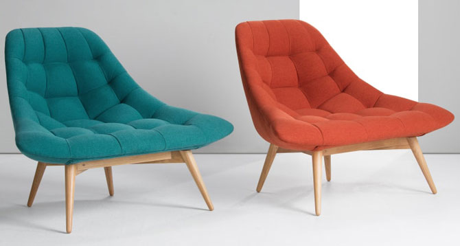 Retro-style Kolton Chair returns to Made in two new shades