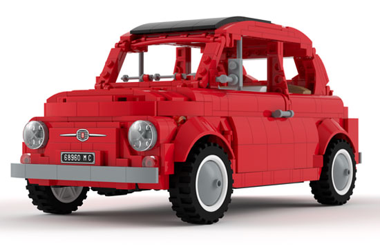 1968 Fiat 500 could be next Lego project