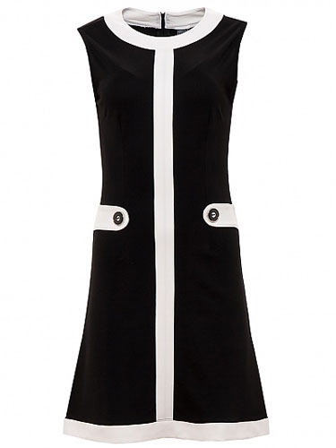 1960s-style Louise Dress by Mademoiselle YeYe