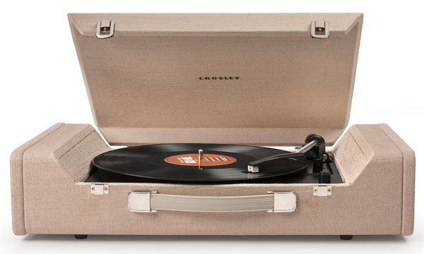 Crosley Nomad USB-enabled record player