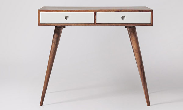 Midcentury-style Otto desk at Swoon Editions