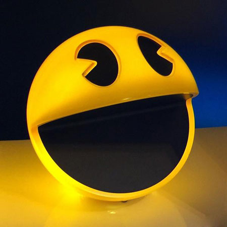 Pacman Sound Chip Lamp