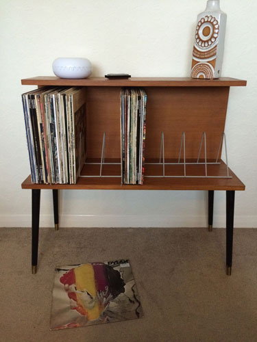 1960s Teak Beaver & Tapley record cabinet and storage unit