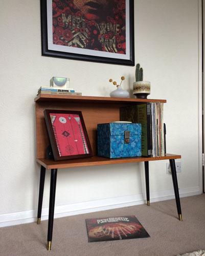 1960s Teak Beaver & Tapley record cabinet and storage unit