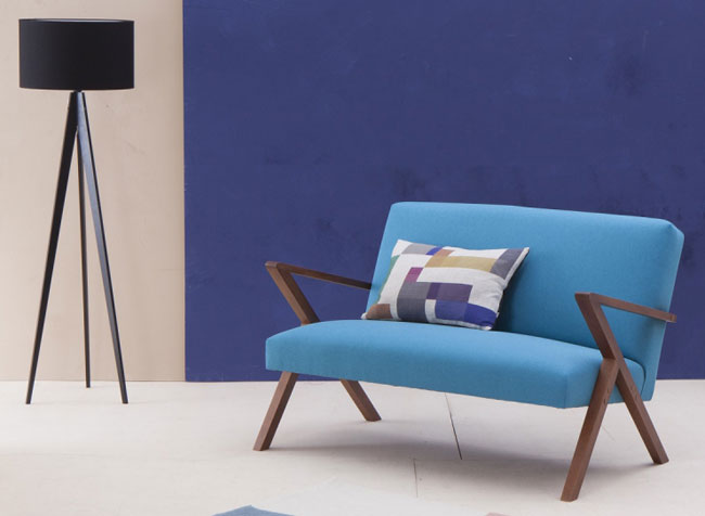 Retrostar midcentury-style sofa by Stenzeit Design