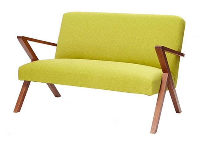 Retrostar midcentury-style sofa by Stenzeit Design