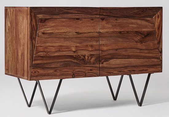 Midcentury-style Russell mini sideboard at Swoon Editions