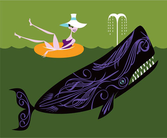 New limited edition Shag print: The Ostentatious Whale