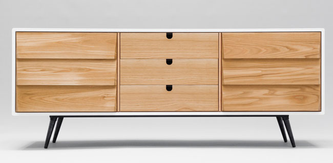 Midcentury-style sideboard by Habitables at Etsy