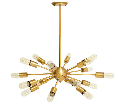 Sticks retro Sputnik-style pendant light at Dwell
