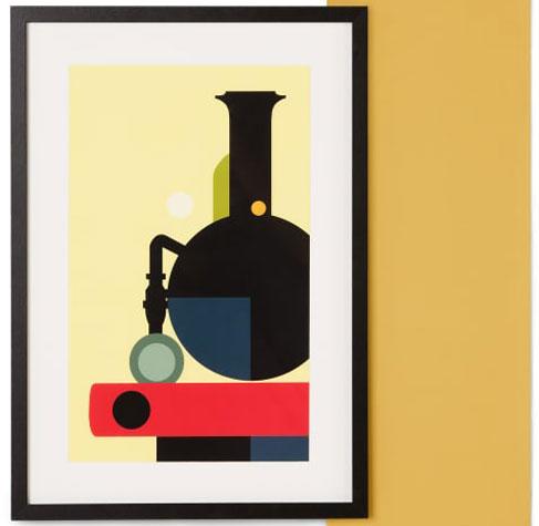 Made x TfL framed London Underground vintage prints