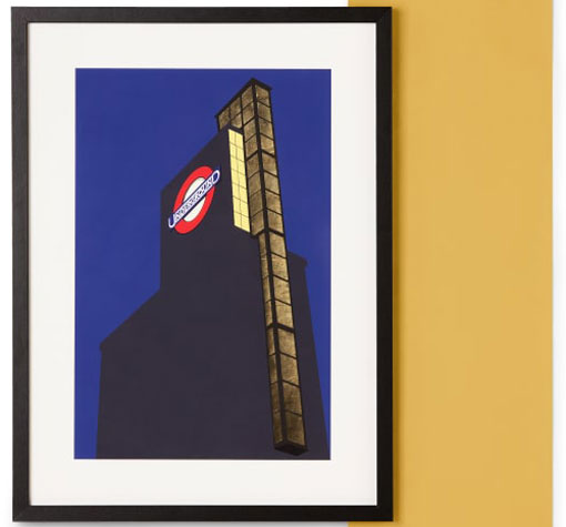 Made x TfL framed London Underground vintage prints
