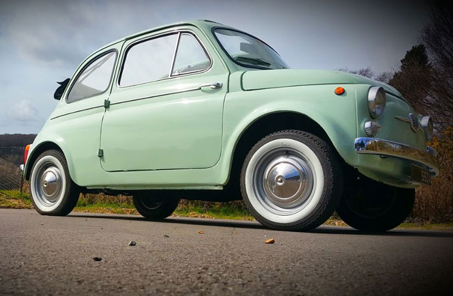 1963 Fiat 500D Transformabile