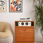 Menlow Vinyl Storage Cabinet at Urban Outfitters