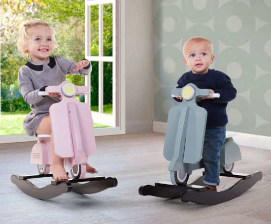 Rocking Vespa scooter for kids by Childwood