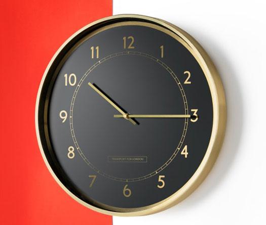 Made x TfL Aldwych wall clock