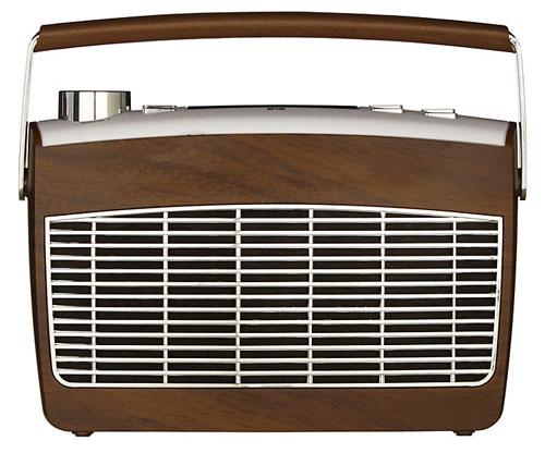 1960s-style John Lewis Aston MK2 DAB and FM radio