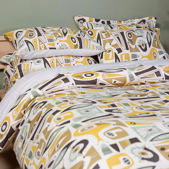 Midcentury home: Atomic Dreams collection at Sin in Linen
