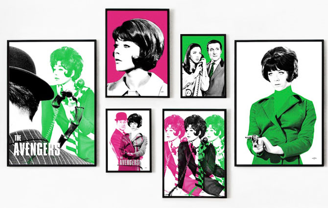 The Avengers women celebrated in new Art & Hue pop art collection