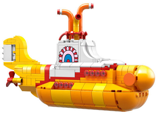 The Beatles comes to Lego: Yellow Submarine and Fab Four figures confirmed for release
