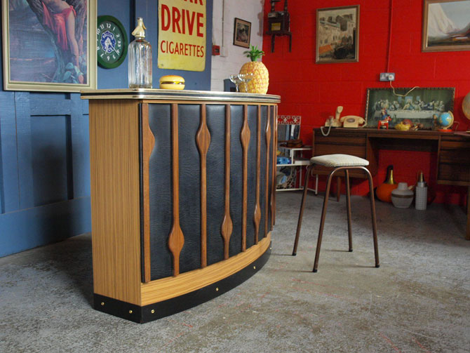 eBay watch: 1960s teak front cocktail bar