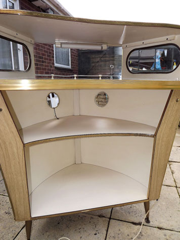 1960s boat-themed cocktail bar