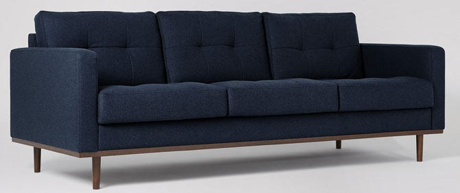 Midcentury-style Berlin seating range at Swoon Editions