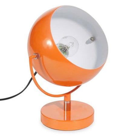 Affordable retro: 1970s-style Capsule table lamp at Maisons du Monde