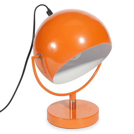 Affordable retro: 1970s-style Capsule table lamp at Maisons du Monde