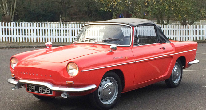 1964 Renault Caravelle Convertible