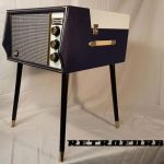Restored 1960s Dansette Hifi Mk1 record player