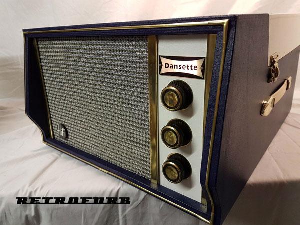 Restored 1960s Dansette Hifi Mk1 record player