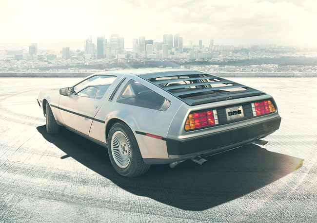 Back To The Future: Reserve an all-new DeLorean DMC-12