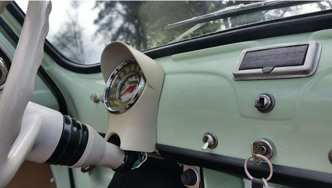 1963 Fiat 500D Transformabile with suicide doors