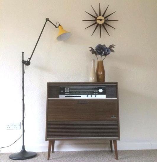 Restored 1970s Grundig COMO 4 radiogram