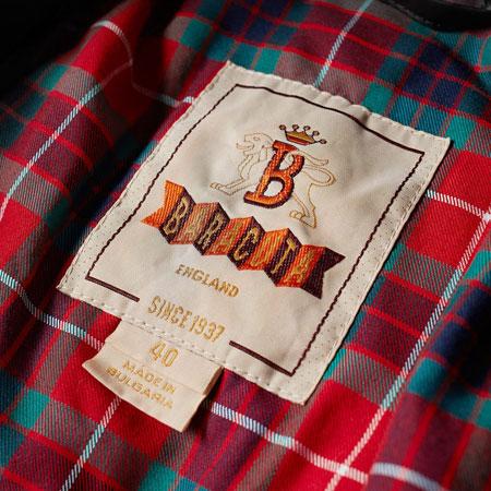 A classic reworked: Baracuta G9 Dry Wax Harrington Jacket