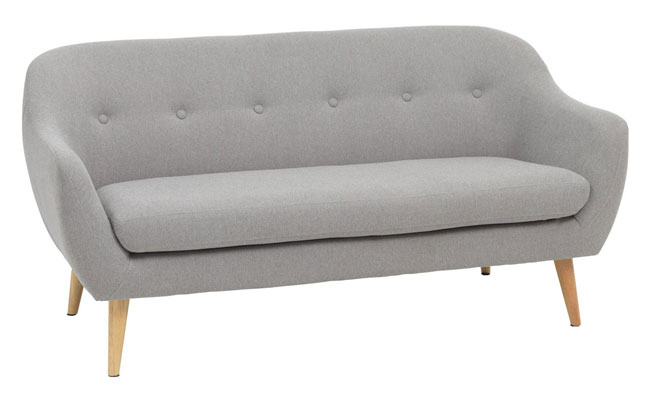 Egedal midcentury-style sofa and armchair at JYSK