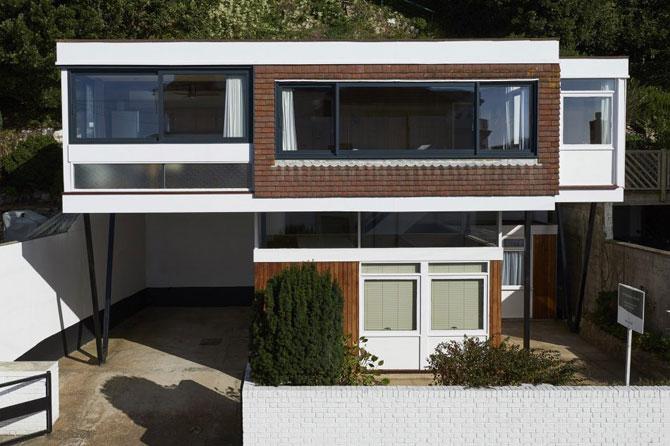1960s John Floydd-designed midcentury-style property in Sandgate, Kent