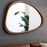 Mid-Century Asymmetrical Wall Mirror at West Elm