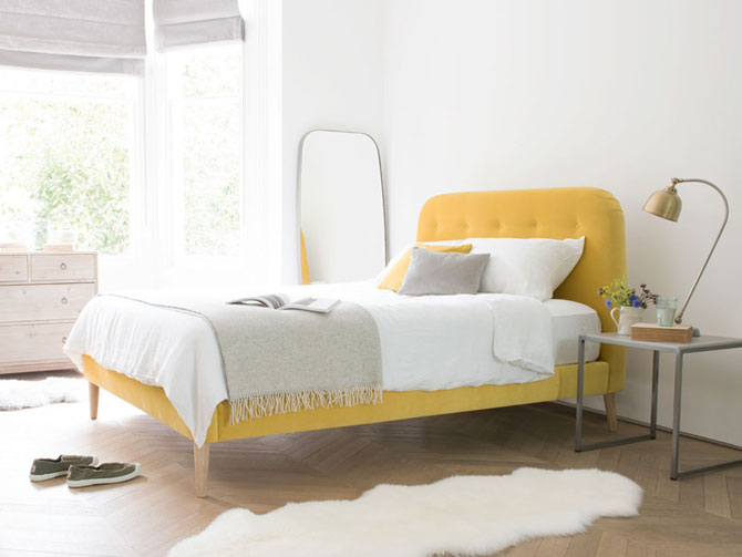 Dream in colour: Retro-style Napper Bed at Loaf