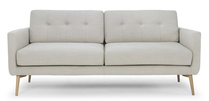 Midcentury-style Primrose Hill sofa and armchair range by Sofas and Stuff