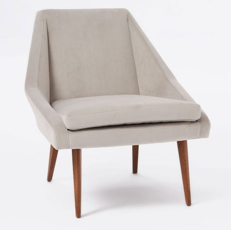 1960s-style Parker Chair at West Elm