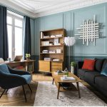 Midcentury-style Portobello bookcase at Maisons du Monde