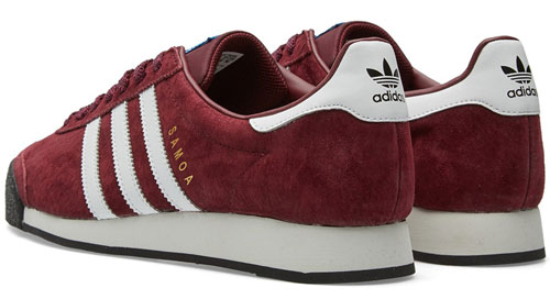 1980s Adidas Samoa trainers reissued in two archive colour ways
